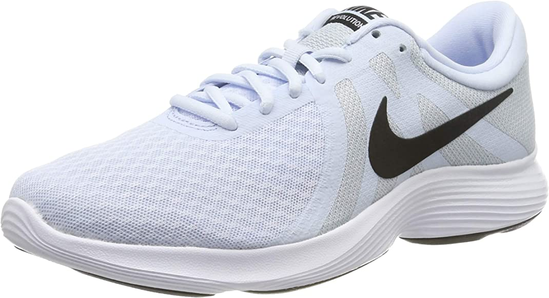 Nike Womens Revolution 4 Running Shoe, Mujer, Azul (Half Blue/Black/Wolf Grey/White 407), 38 EU: Amazon.es: Zapatos y complementos