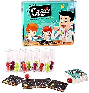 Experimentos 1set Científico Loco Juego De Mesa Tubos De Ensayo Kit De La Ciencia Reconocimiento Juguete Educativo del Color Manos A La Madre para El Juguete Niño Niña: Amazon.es: Juguetes y juegos