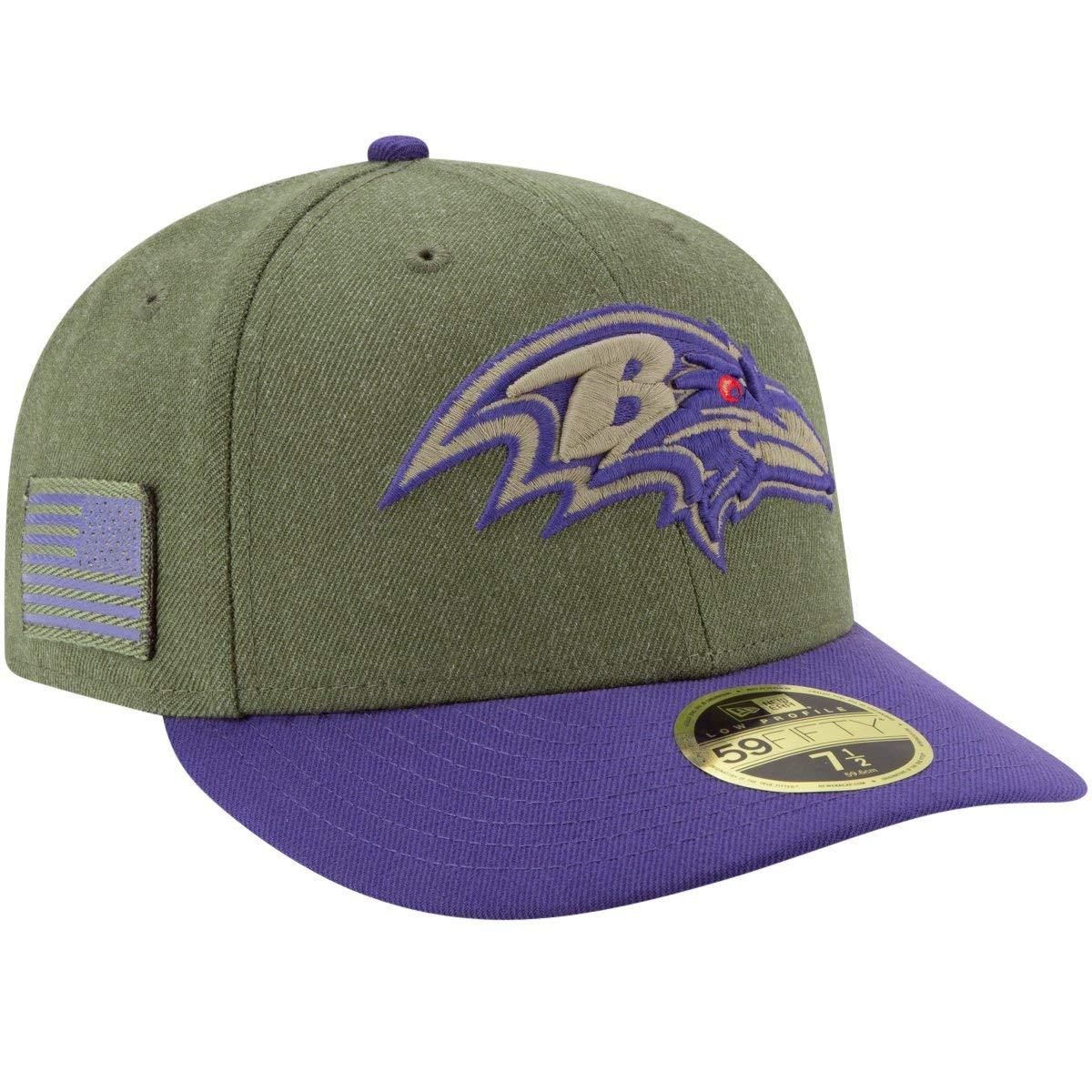 NEW Era salutate to service inverno berretto-Baltimore Ravens