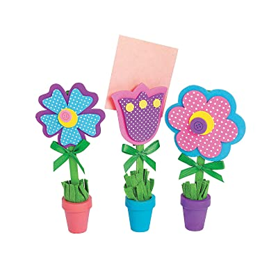 Flower Recipe or Picture Holder Craft Kit, 12 sets