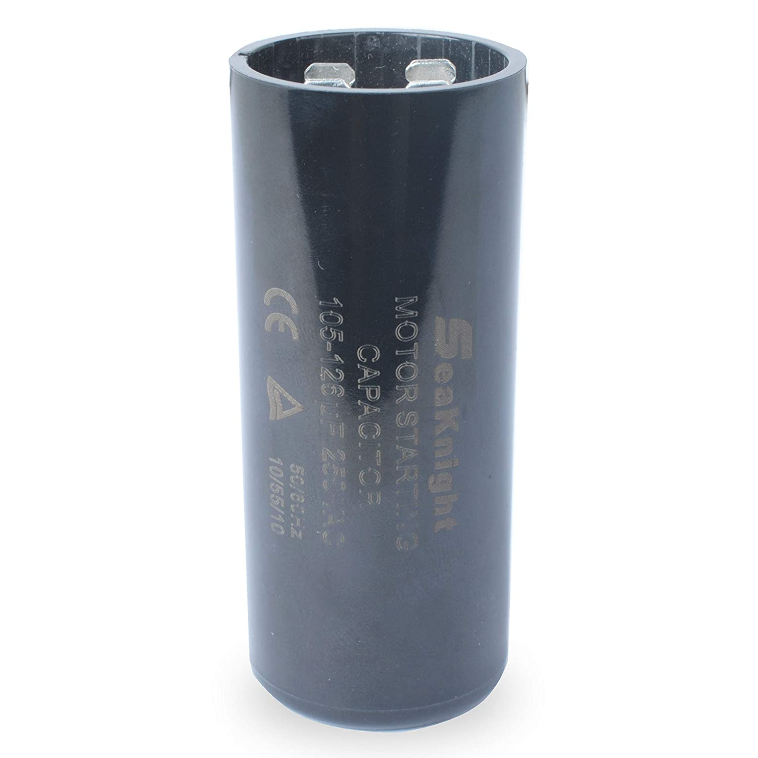 105-126 uf MFD Motor Start Capacitor 220-250VAC Replacement for Franklin 1HP, 1.5hp and 2HP Well Pump Control Box 2823008110, 2823018110, 2801084915, 2823018310, 2823508110