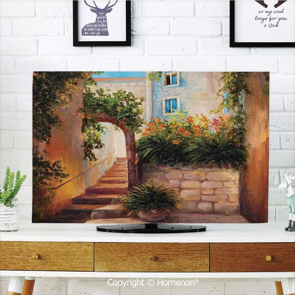 Amazon Com Indoor Pop Tv Dust Cover Cover Type 55 Inch Lcd Tv 3d