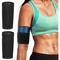 MoKo Arm Trimmer Bands, 1 Pair Upper Slimming Arm Compression Sleeves Shaper Wraps for Flabby Arms, Elastic Sport…