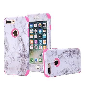 coque iphone 8 plus 360 marbre