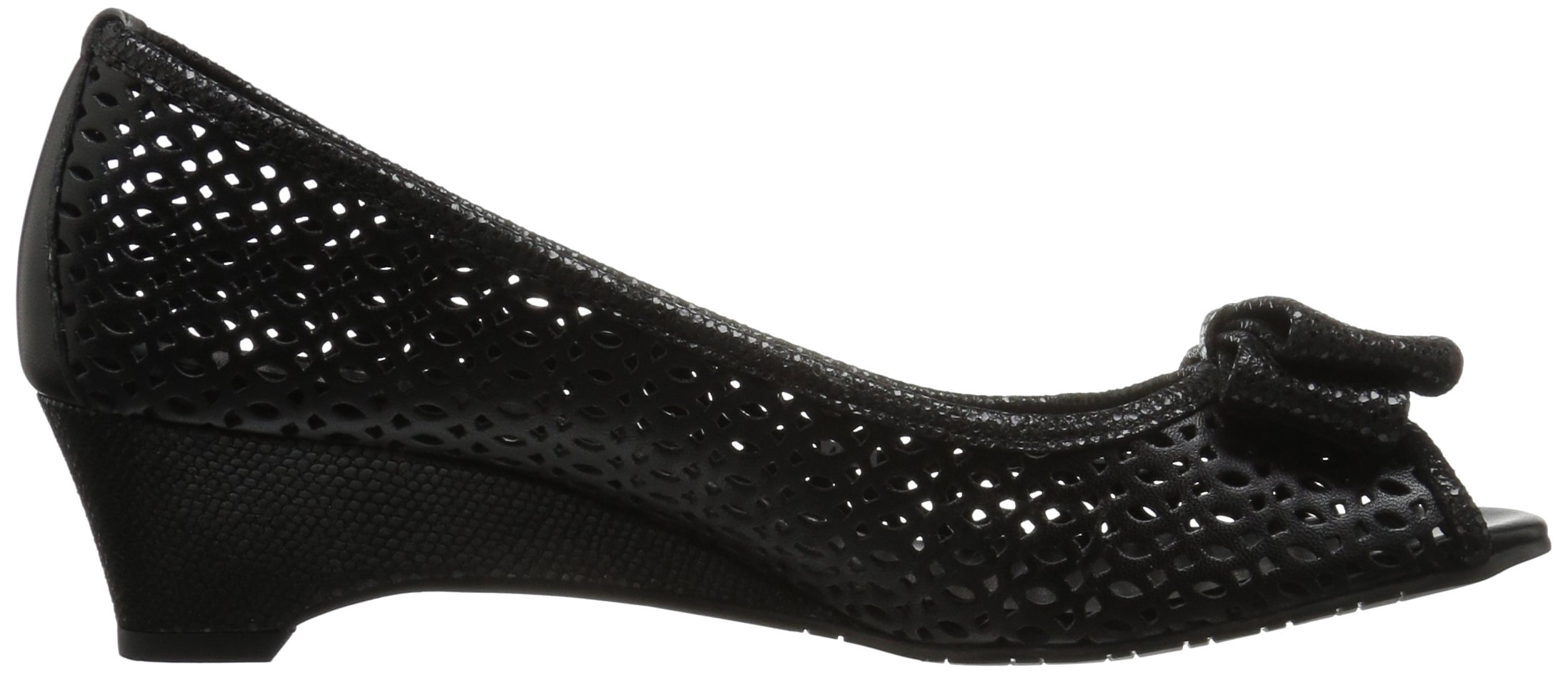 VANELi Women's Brinly Wedge Sandal, Black Perfed Nappa/Black Summer VIP, 9.5 N US by VANELi (Image #7)