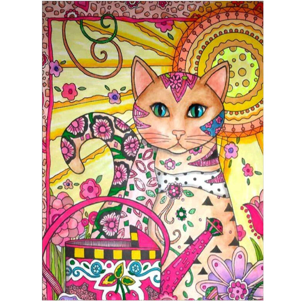 sunnymi 5D Diamond Embroidery Point Drill Painting Cross Stitch Crystal Rhinestone Pictures DIY Arts Craft A