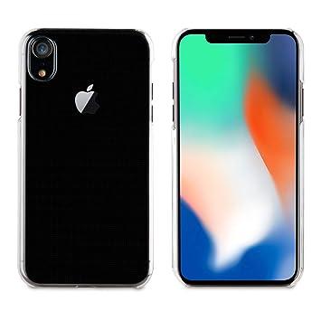 9c3fef90585 Muvit Cristal - Pack de Funda para Apple iPhone XR y Protector Pantalla (Vidrio  Templado Plano) Transparente: Amazon.es: Electrónica