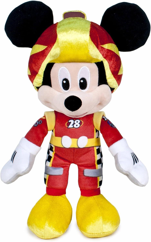 Famosa Softies - Mickey y Los Super Pilotos Peluche Mickey, 35 cm (Famosa 760015277)
