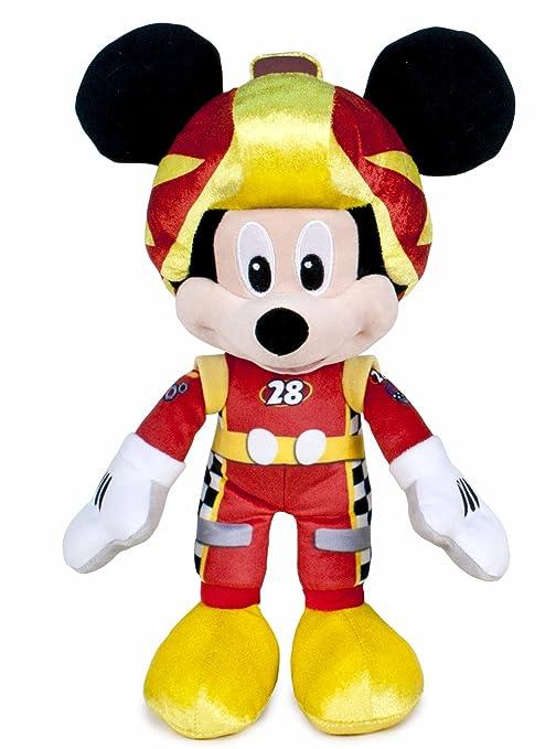 Famosa Softies - Mickey y Los Super Pilotos Peluche Mickey, 35 cm (Famosa 760015277