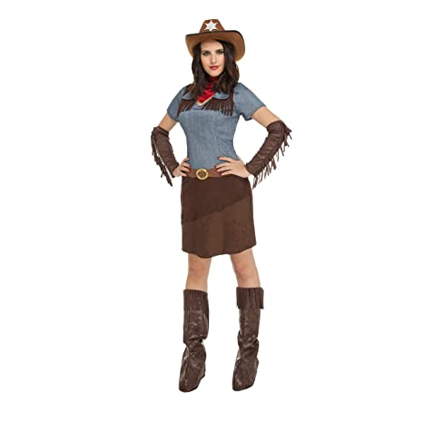 My Other Me Me-204367 Disfraz de Cowgirl para Mujer aea7f2a1760