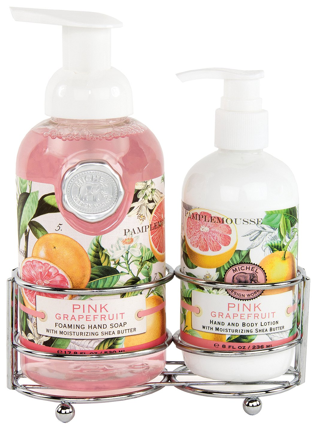 Amazon.com: Michel Design Works Foaming Hand Soap and Lotion Caddy ...