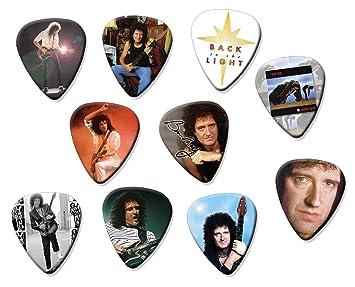 Brian May Classic Set de 10 púas de guitarra eléctrica o acústica: Amazon.es: Instrumentos musicales