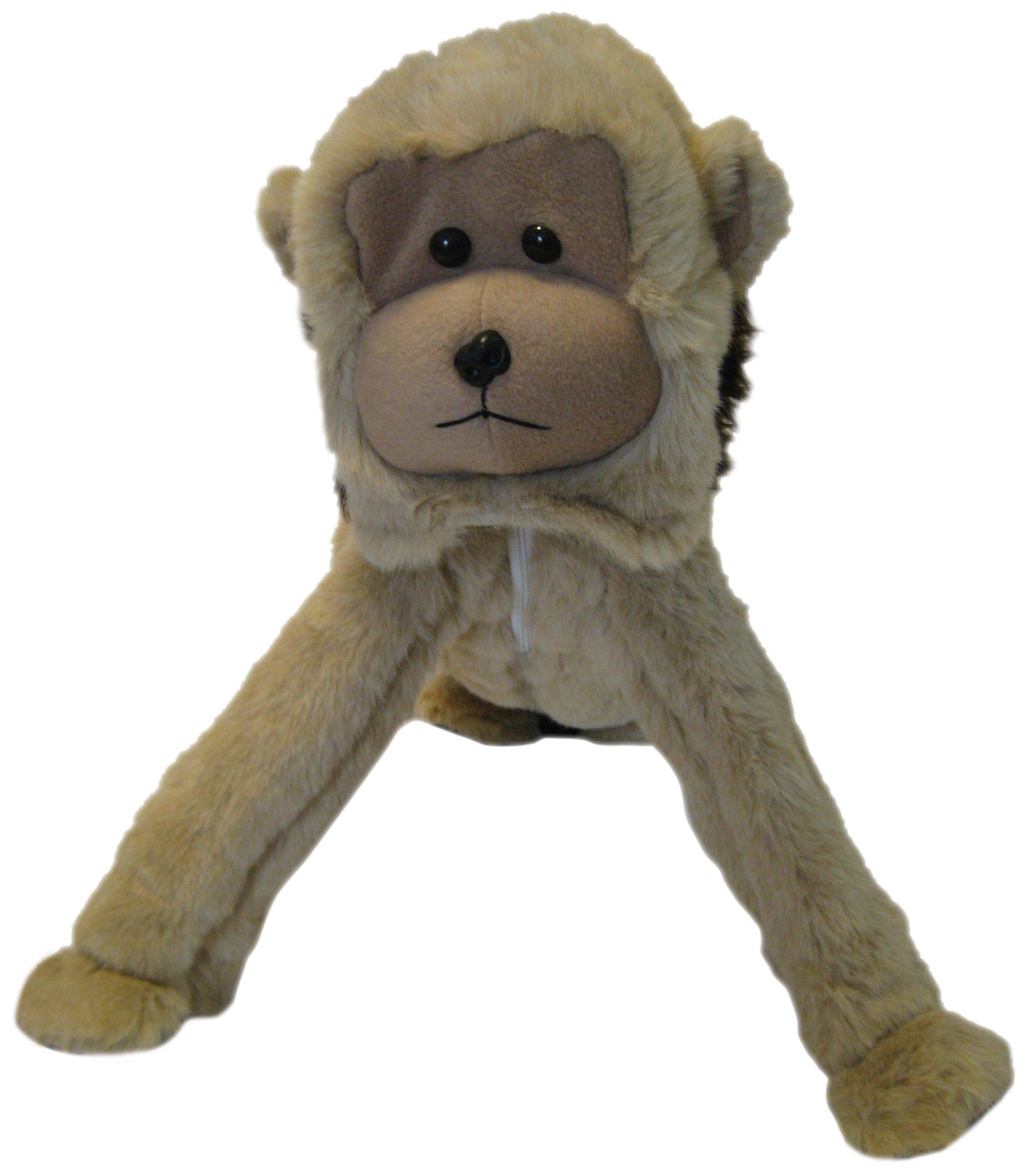 MiniZoo Golf Tan Monkey Bag Cover, Small