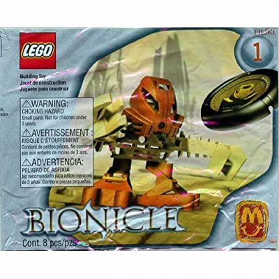 Huki 1388 - Lego McDonalds 2002 Euro Bionicle Tohunga Matoran: Toys & Games