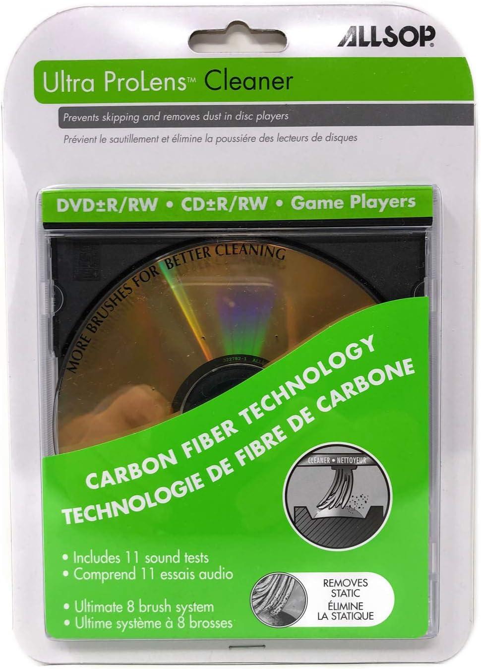 Allsop Eight Brush CD Laser Lens Cleaner