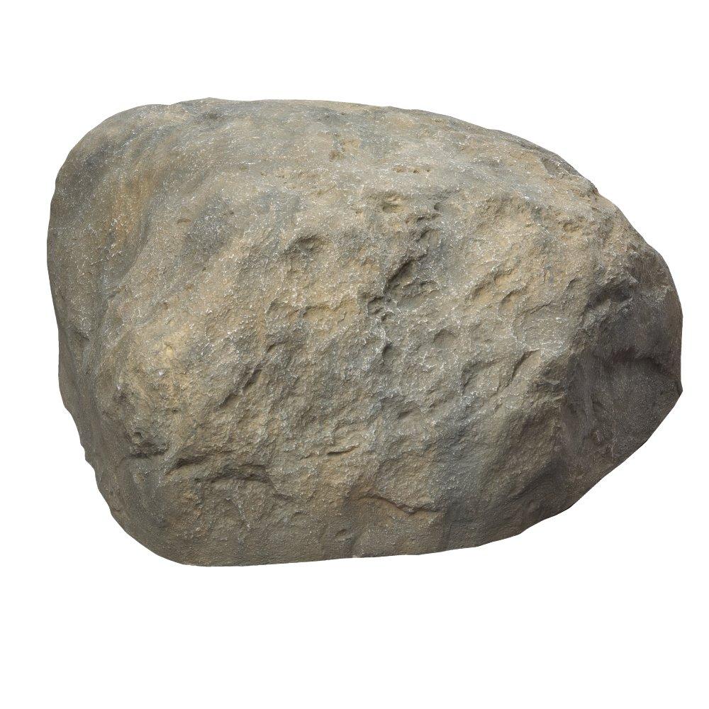 Outdoor Essentials Faux Boulder Rock,  Tan,  Large