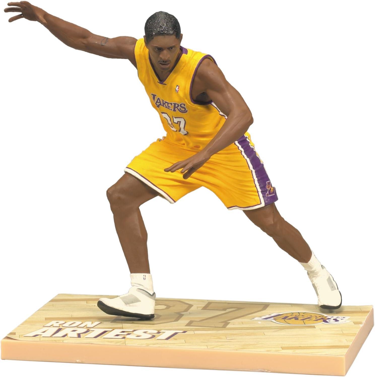 McFarlane Toys NBA Serie 18 - Figura de acción de Ron Artest