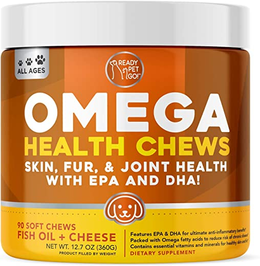 Ready Pet Go! Omega 3 for Dogs | Fish Oil...
