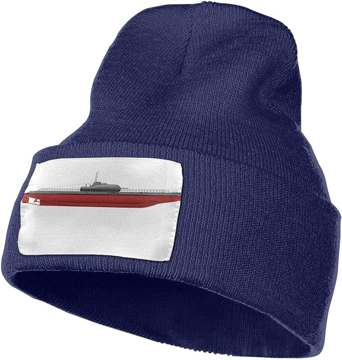 QZqDQ USA Aircraft Carrier Unisex Fashion Knitted Hat Luxury Hip-Hop Cap