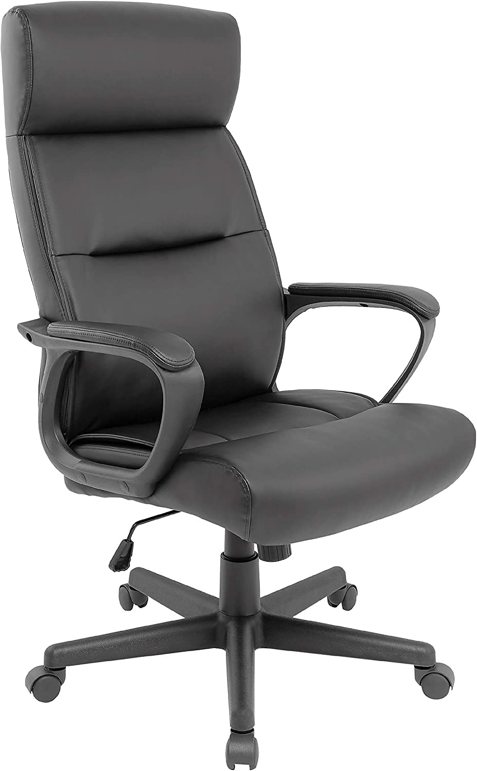 Staples Rutherford Luxura Manager Chair, Black