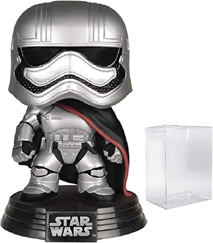 Star Wars Revenge Of The Sith Includes Compatible Pop Box Protector Case Vinyl Bobble Head Figure Clone Trooper Funko Pop Bobbleheads