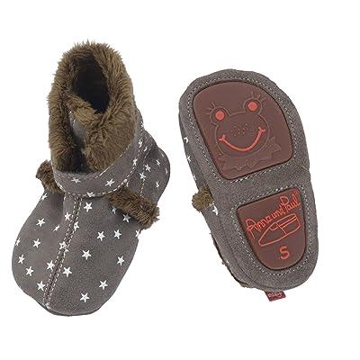 Anna und Paul , Chaussures souple pour bébé (garçon) gris gris