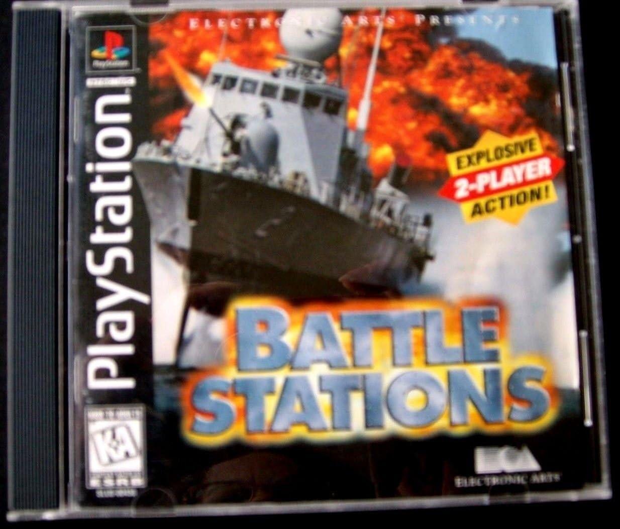Amazon com: Battlestations - PlayStation: Unknown: Video Games