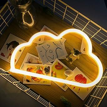 Shsyueu0026reg; LED Dekoration Lampe Leuchte USB Süße Kreative Wolke  Modellierung Licht Warmweiß Für Wohnzimmer Schlafzimmer