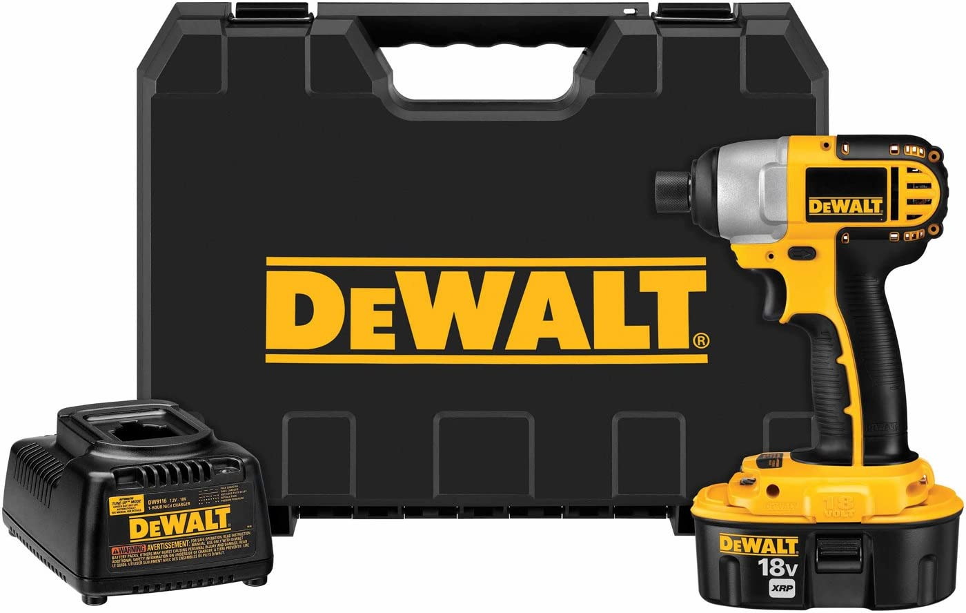 DeWalt DC825K 1 4 18V Cordless XRP Impact Driver Kit with Battery