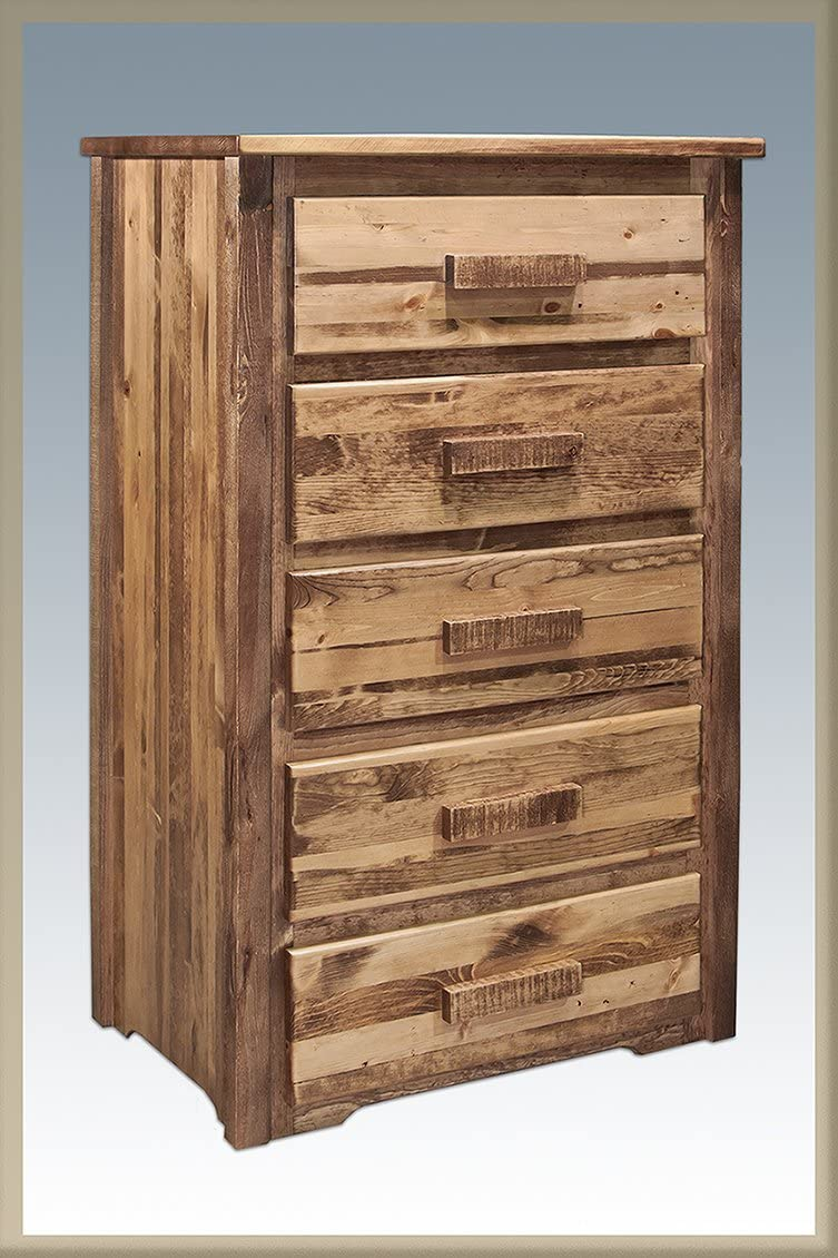 Montana Woodworks Chest – 5 Drawer Stained Lacquered – Homestead Collection