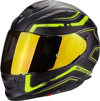 Scorpion Casco Moto exo-510 Air Radium, Matt black/neon yellow, XXL