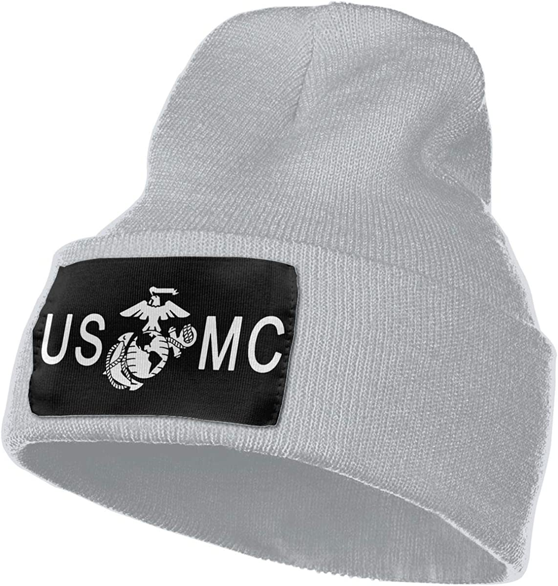 SLADDD1 USMC Warm Winter Hat Knit Beanie Skull Cap Cuff Beanie Hat Winter Hats for Men /& Women