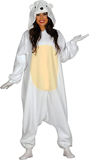 Guirca- Disfraz adulta pijama oso polar, Talla 38-40 (84987.0 ...