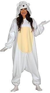 Guirca Disfraz Adulta Pijama Oso Polar, Talla 38-40 (84987.0)