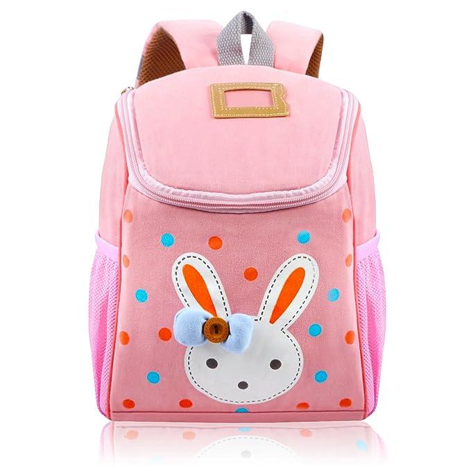 Amazon Com Vox Little Kids Backpack Cartoon Cute Rabbit Backpack