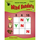 Mind Benders Book 1 (Grades PreK-K)