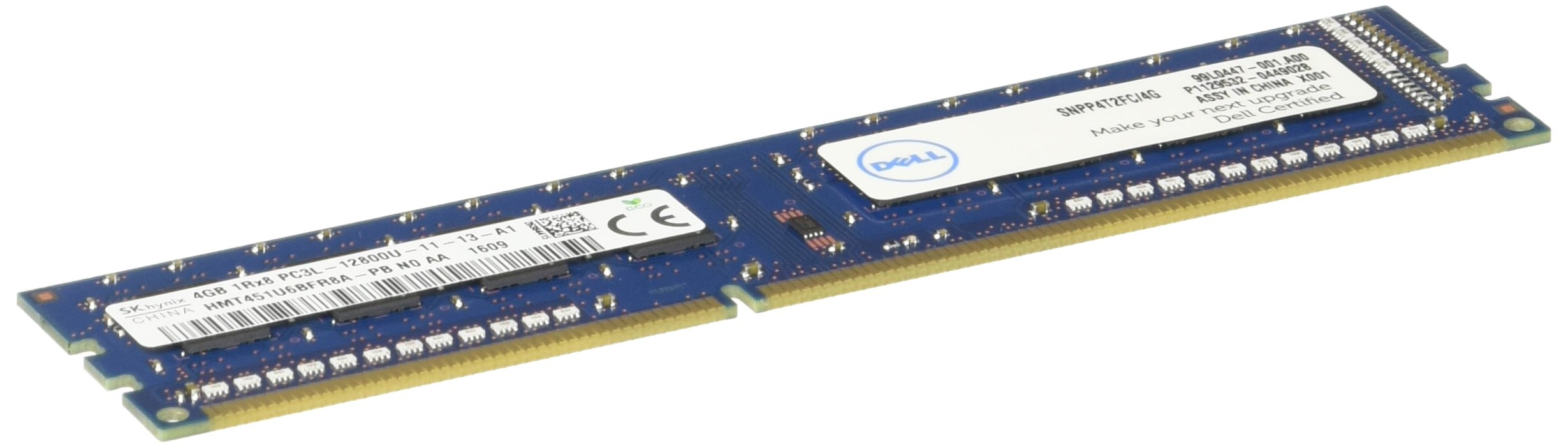 Dell 4GB DDR4 SDRAM Memory Module by Dell Technologies (Image #1)