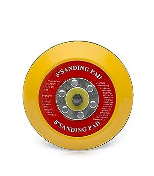 Dual Action Random Orbital Sanding Pad 5 8 hole 125mm Hook and Loop Sanding Pad