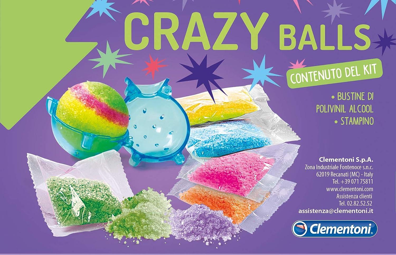 Scienza E Gioco Made In Italy Laboratorio Scientifico Palline Matte Italiano Clementoni 19155 Gioco Scientifico Per Bambini 8 Anni Crazy Balls Pocket