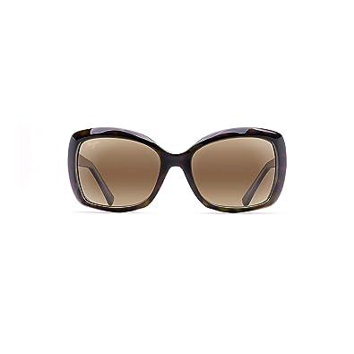 41723ac7c18 Maui Jim Sunglasses | Sandy Beach H408-10 | Tortoise Rimless Frame,  Polarized HCL