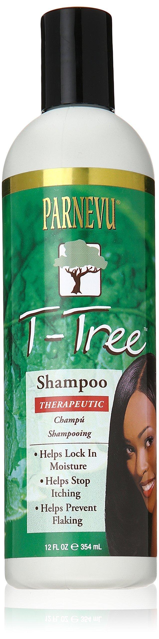 Parnevu T-Tree Therapeutic Shampoo, 12 Ounce