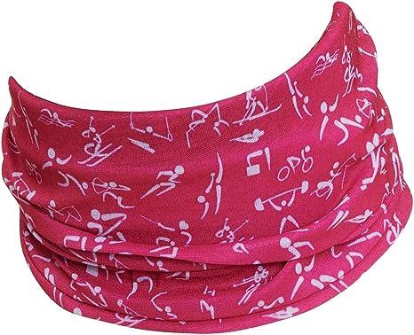Bufanda para Hombre y Mujer Polaina de Cuello Hilltop Bufanda de Tubo Multifuncional Bandana con Dobladillos Cosidos Braga de Cuello