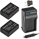 EforTek BP-1030 Replacement Battery (2-Pack) and Charger Kit for Samsung BP-1030,BP-1130 and Samsung NX200, NX210, NX300,NX500, NX1000, NX1100, NX2000