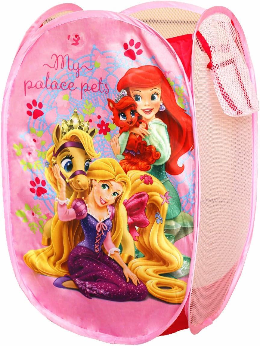 PALACE PETS Disney Princess Pop up Hamper Toy Storage