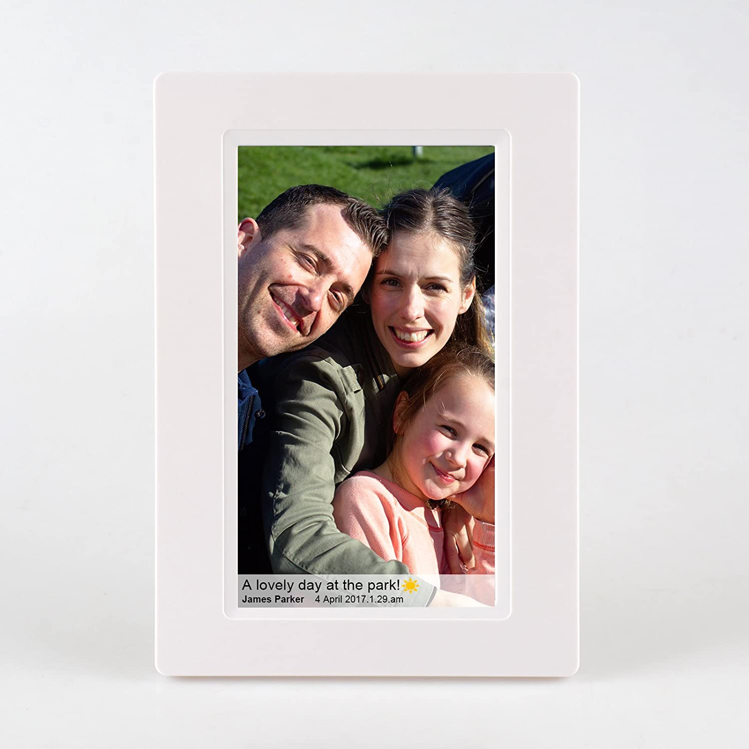 Feelcare 7 Inch Smart Wifi Digital Picture Frame With Touch Screen Photo Ips Lcd Panel