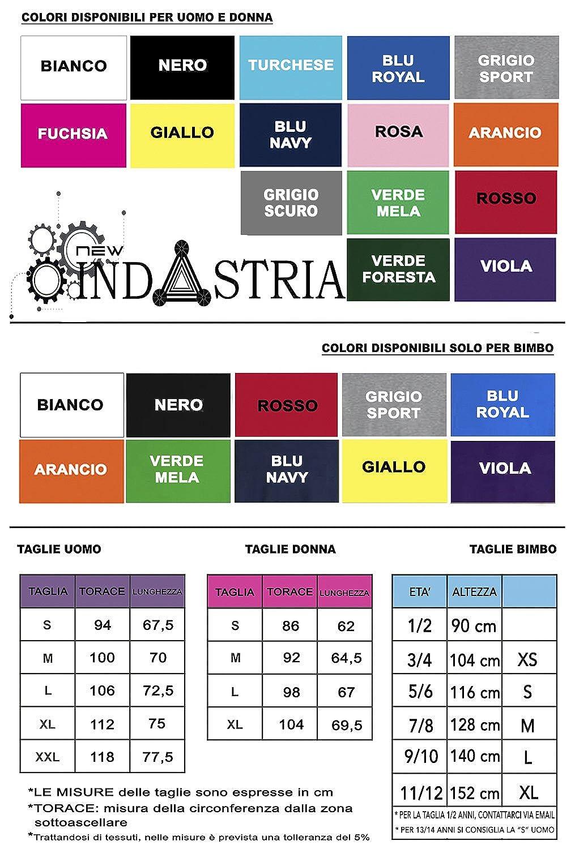 New Indastria T-Shirt Sono Sardo Dentro Quattro Mori Sardegna