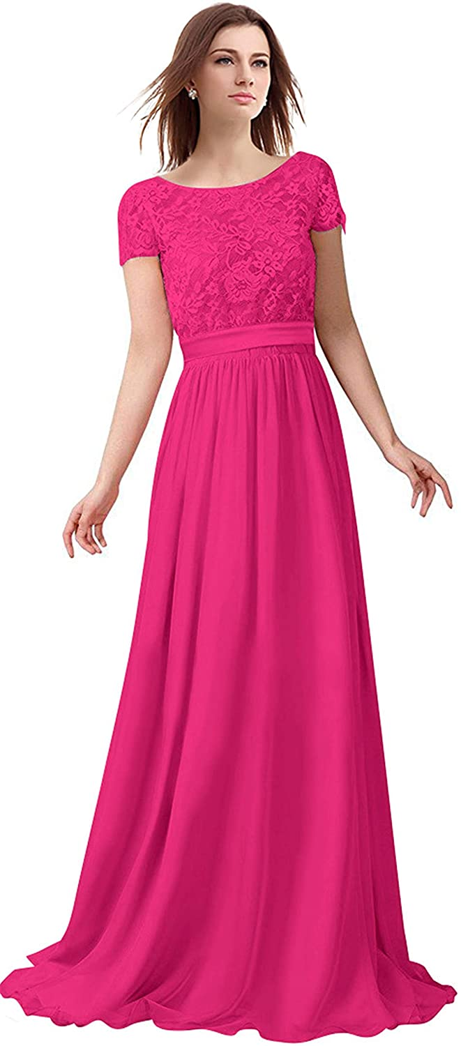 Fuchsia Lily Anny Short Sleeve Two Piece Set Mother of The Bride Dresses L230LF