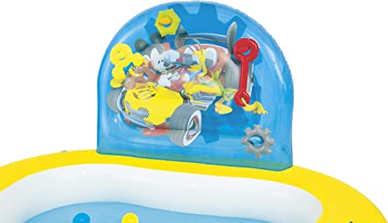Bestway 91015 Disney - Piscina de juegos hinchable con diseño de ...