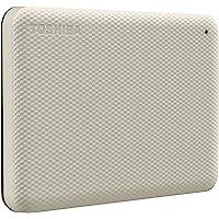 HD Externo Portátil Toshiba 2TB Canvio Advance USB 3.0 Branco - HDTCA20XW3AA