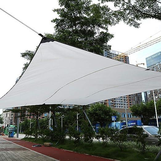 Toldo Vela para Jard¨ªn Vela de Sombra Toldo Parasol Jardin, Tejidos de Poliester, Dise?o Port¨¢Til con Cuerda de Nylon (4.5 ¡Á 5 m): Amazon.es: Jardín